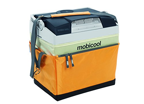 Waeco MOBICOOL G26S DC Thermoelectric Cool Box Fabric, Yellow/Grey, 25L, 12V