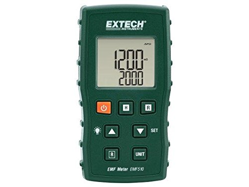 EMF510 Electric field strength meter LCD, with a backlit 160g EXTECH Extech Meter