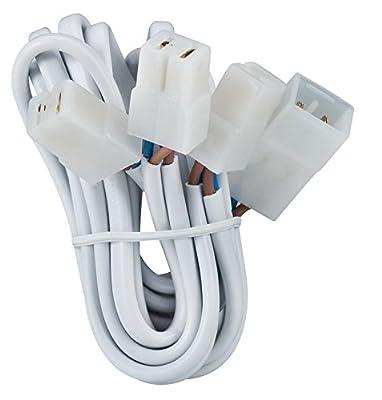 979.73 Paulmann Einbauleuchten Zubehör Kabelsätze mit Steckverbinder für 3 Leuchten 3x35W Weiß 12V