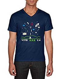 Touchlines Men's Astromash Arcade T-Shirt