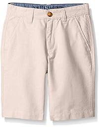 Nautica Big Boys' Oxford Flat Front Short
