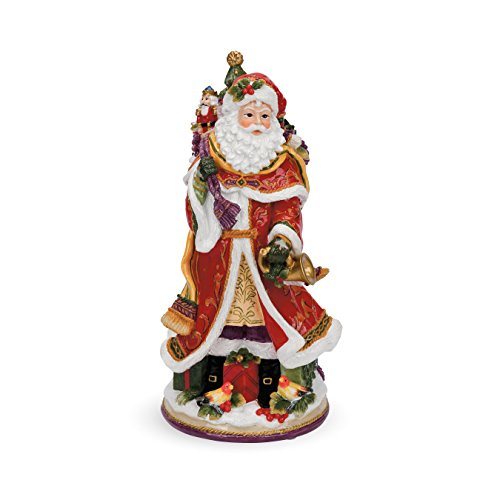 Regal Holiday Collection, Santa Musikalische Figur Von Fitz und Floyd Fitz Floyd Santa