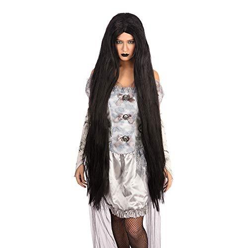 Long Black Wig 40