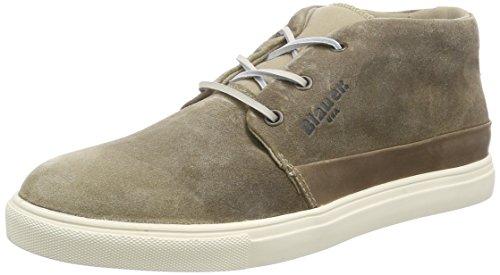 Blauer USACUPMID/SUE - Sneaker uomo , Beige (Beige (tortora)), 42