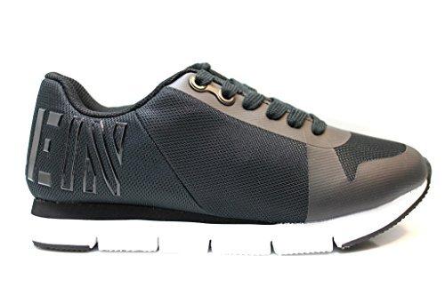 Baskets Femme TAJA ENGRENER R4110 Noir Chaussures Pour Femmes Casual Sportif