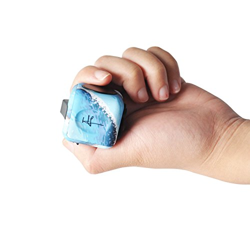 Highline Fidget Cube Fidget Toy for ADD and Stress Relief Fidget Sensory Gadget for Adults and Children (Ocean) - 2