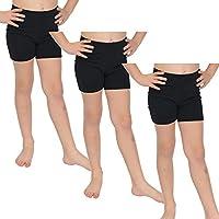 Stretch Is Comfort - Pantalones Cortos de algodón para Bicicleta (3 Unidades)