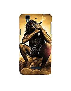 Aart Designer Luxurious Back Covers for Micromax Yuphoria by Aart Store.