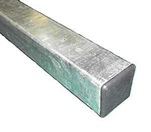 Metallpfosten 50x 50x 1400mm, für Gartentor und Zaun (MMTPP)