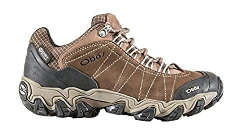 Oboz Bridger Low BDry Hiking Shoe - Women's Walnut 8.5