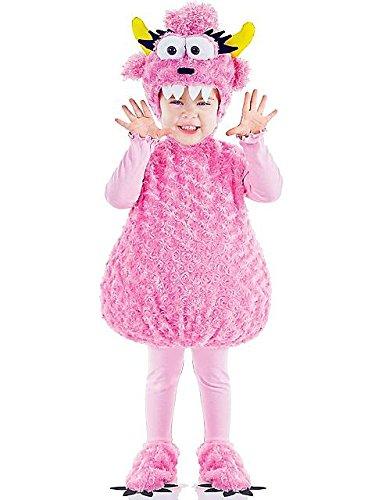Underwraps Costumes Kostüm Plüsch Baby Monster Rosa Größe - Monster Baby Kostüm
