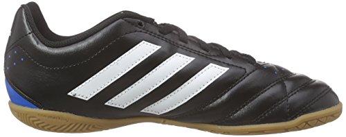 adidas Goletto V In, Chaussures de Football Compétition Mixte Enfant Noir (Core Black/Ftwr White/Solar Blue2)
