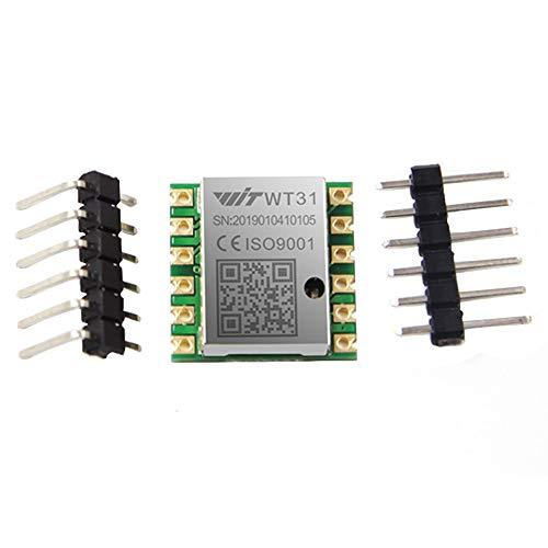 WT31N Sensore AHRS IMU Angolo di inclinazione digitale a 2 assi ( roll pitch ) Inclinometro + Accelerometro a 3 assi (+-2g) Modulo TTL 3.3-5V filtro Kalman Supporto PC/Android/Arduino per test statici