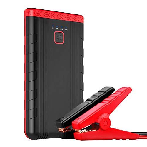 Car Jump Starter -pic actuel 400A lithium de capacité élevée Batterie, 12V voiture batterie de démarrage avec lampe de poche LED, démarrage d'urgence voiture Power Pack