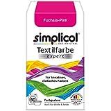 """'Simplicol textil color Expert–para creativo, fácil färben–1705""""Fucsia de color rosa NUEVO."""