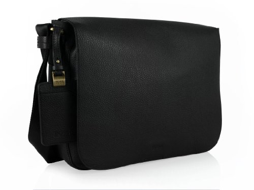 EMERIT Messenger-Bag von Hugo Boss, schwarz