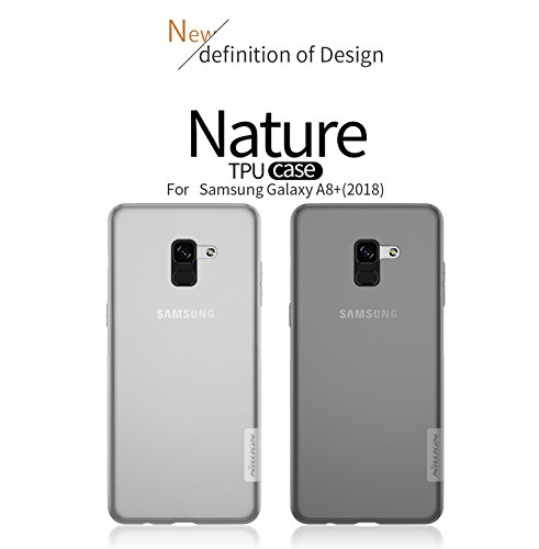 Nillkin TPU Back Cover for Samsung Galaxy A8 plus (White)