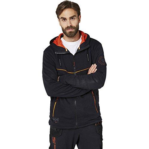 Helly Hansen Mens Chelsea Evolution Full Zip Hooded Work Hoodie Jacket Chelsea Zip