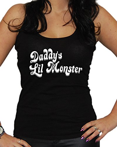 Daddy´s Lil Monster Tanktop (S, (Frauen Kostüm Riddler)