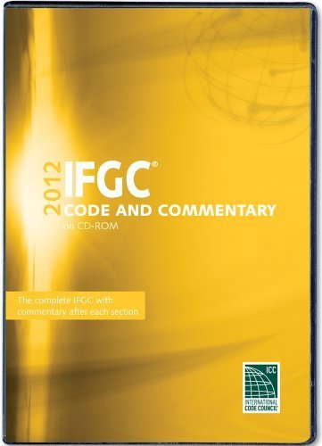 2012 International Fuel Gas Code Commentary CD-ROM (International Code Council Series) by International Code Council (2012-06-18)
