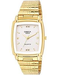 oreca real gold men's watch