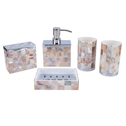 AIMONE 5 Pcs Bathroom Accessories ...