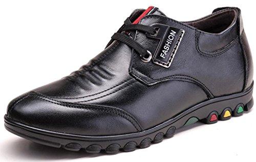 NSPX Business Casual Scarpe Nuovo Stealth dentro l'aumento in scarpe Uomo / Scarpe casual in pelle Scarpe sportive all'aperto , 41 BLACKINCREASE-41