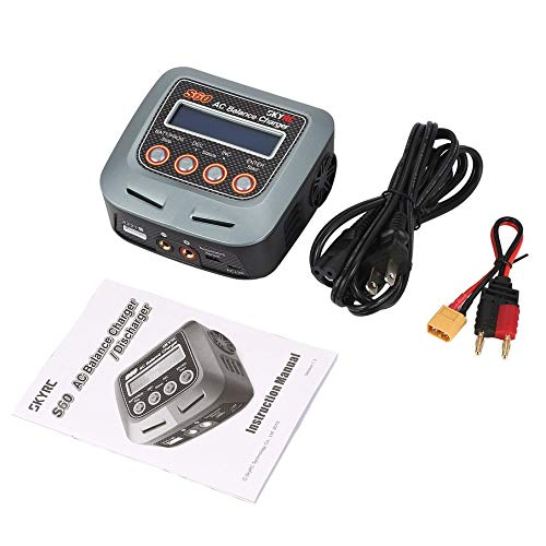 KNOSSOS S60 60W AC Balance Charger/Discharger for LiPo LiHV Life RC Battery