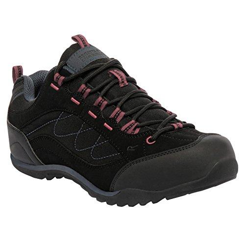 Regatta Eastmoor, Chaussures Multisport Outdoor Femme Black/Deco Rose