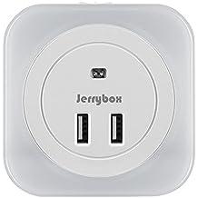 JerryBox LED Luce Notturna Crepuscolare con Sensore di Luminosità, con