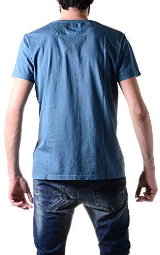 Diesel Herren T-Shirt T-Achell Maglietta Hellblau