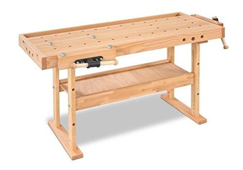 Fuerza de madera HB 1701resistente Banco de carpintero