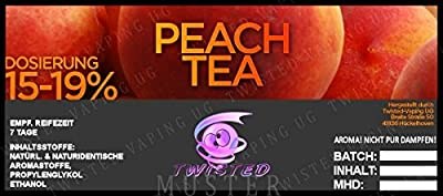 Twisted Aroma Peach Tea von Twisted Vaping