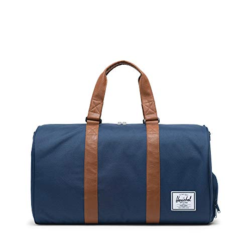 (Herschel Novel Duffle Gürteltasche, Navy/Tan)