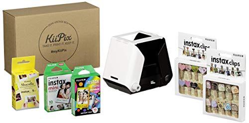 KiiPix VINTAGE BOX Jet Black Fotodrucker inkl. kreativ Set -