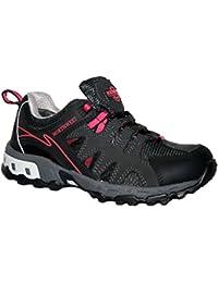 Ladies esperanza totalmente impermeable senderismo/senderismo cordones Trainer Shoe