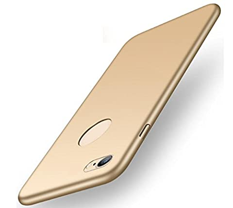 Iphone 6 or 6s Hülle,EIISION Mode-Design sehr dünn anti-dropping PC Handy Hülle (Gold)