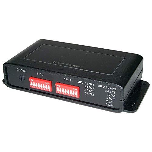 BeMatik - Cat.5 Extender UTP aktiven Video-Empfänger für Störungen Anti TTA111VH Aktive Utp Video