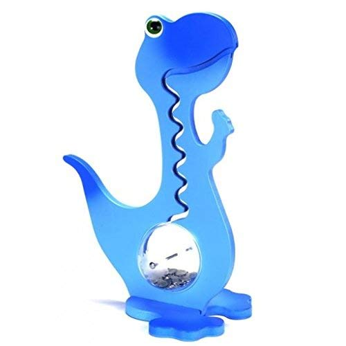 Dinosaurier-Spardose–Spardose–Kinder-Spardose–Kinder-Spardose–Dinosaurier–Leuchtende Farbe, blau, 57 cm