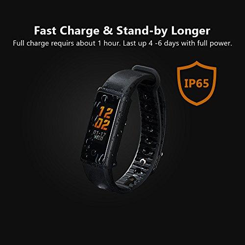 Bracelet Smart, Fitness Tracker avec écran couleur IP65..