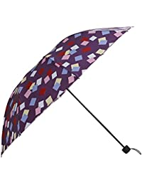 Umbrella Mart 3 Fold Digital Printed Rain & Sun Protective Umbrella (/Multi)