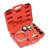Handvakuumpumpe Tester, Auto Coolant Refill & Bereinigen-Werkzeug Vakuumkühlsystem Bremsen-Entlüftung Kit, für die Automobilfahrzeug, LKW und Motorräder