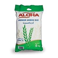 ارز ياسمين فاخر من الوها، 5 كغم، عبوة واحدة