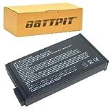 Battpit Batteria del Computer Portatile Laptop per Compaq HSTNN-DB01 (4400 mah)