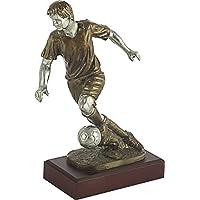Art-Trophies TP396 Trofeo Jugador Fútbol, Dorado, 20 cm