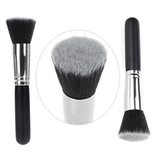 Pinceaux Maquillage, Koly Pinceau de maquillage cosmétiques Pinceaux Kabuki Visage Nez Outil Teint Poudre