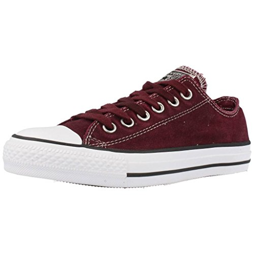 Converse Chuck Taylor All Star Adulte Seasonal Ox 15762 Damen Sneaker Rot  (Bordeaux) ea6e05793d