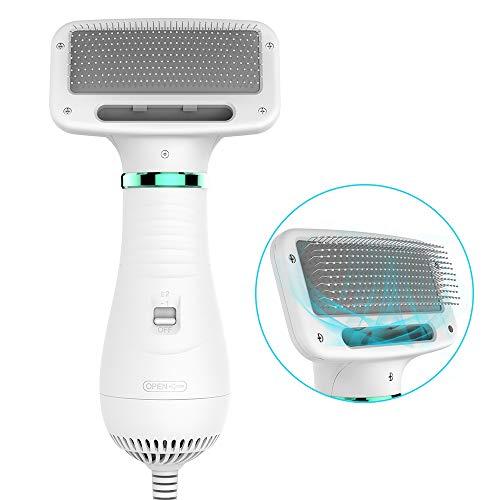 Zoom IMG-1 dadypet asciugacapelli per cane spazzola