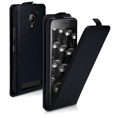kwmobile Lenovo C2 Hülle - Handyhülle für Lenovo C2 - Handy Case Flip Schutzhülle