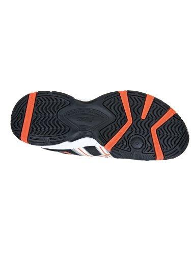 Asics Gel-Resolution 5 GS scarpa nero/arancione fluo Arancione (arancione)